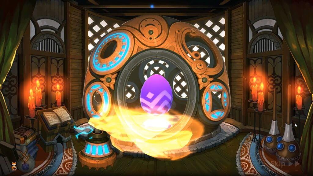MSL Legendary Dark Egg Summon