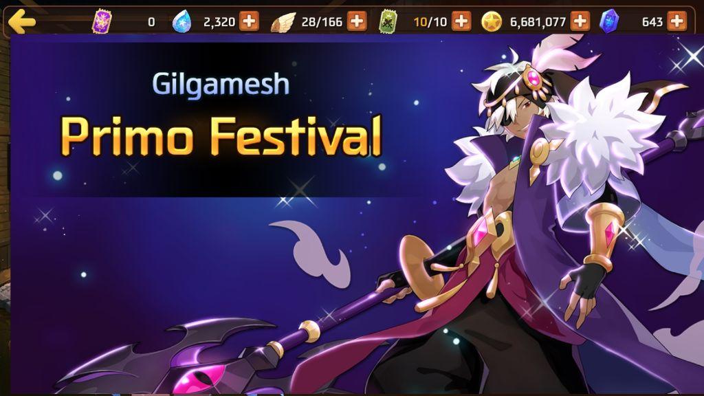 Primo Festival Gilgamesh