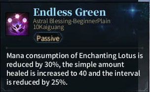 1. SOLO Reaper Astral - Endless Green
