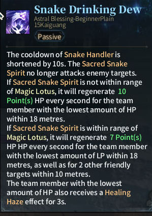 2. SOLO Reaper Astral - Snake Drinking Dew