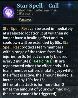 4. SOLO Reaper Astral - Star Spell Call