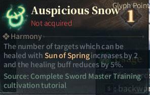 SOLO Bard - Auspicious Snow
