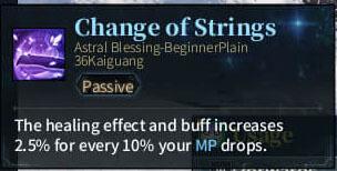 SOLO Bard - Change of Strings