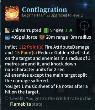 SOLO Bard - Conflagration
