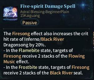 SOLO Bard - Five-Spirit Damage Spell