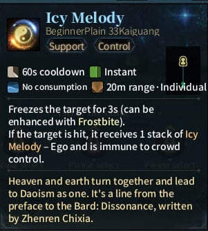 SOLO Bard - Icy Melody