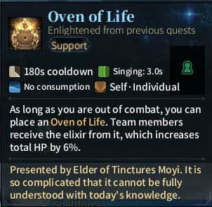 SOLO Bard - Oven of Life