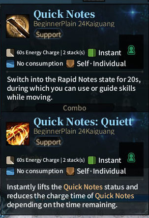 SOLO Bard - Quick Notes