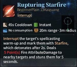 SOLO Bard - Rupturing Starfire