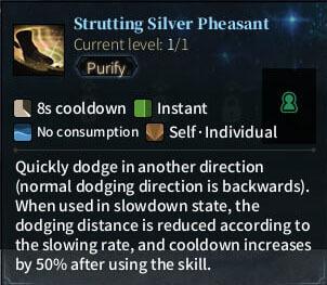SOLO Bard - Strutting Silver Pheasant