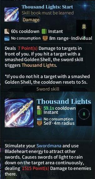 SOLO BS Sword - Thousand Light