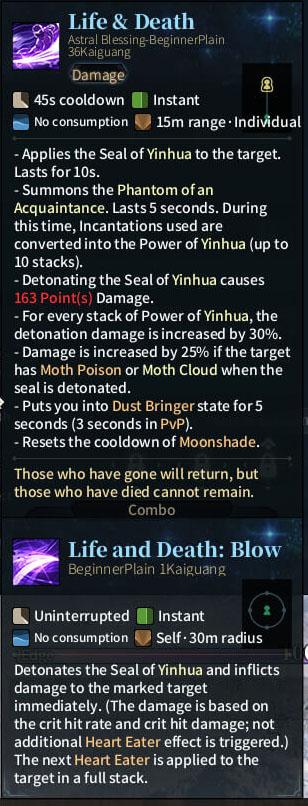 SOLO Reaper Astral - Life & Death
