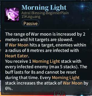 SOLO Reaper Astral - morning Light