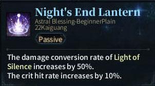 SOLO Reaper Astral - Night's End Lantern