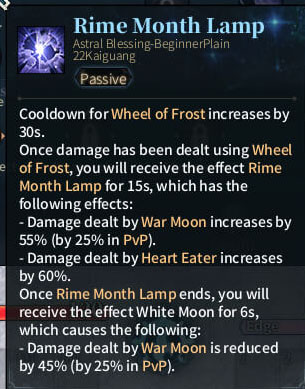 SOLO Reaper Astral - Rime Month Lamp