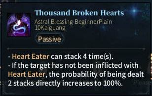SOLO Reaper Astral - Thousand Broken Hearts