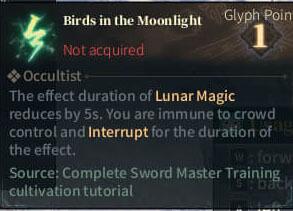 SOLO Reaper Glyph - Birds in the moonlight