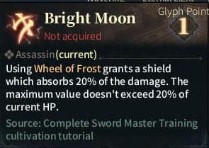 SOLO Reaper Glyph - Bright Moon