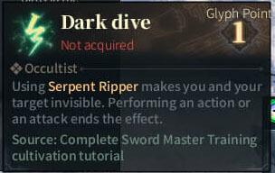 SOLO Reaper Glyph - Dark Dive