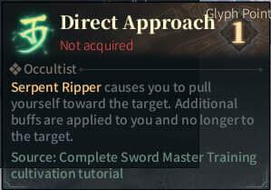SOLO Reaper Glyph - Direct Approach