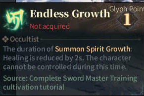 SOLO Reaper Glyph - Endless Growth