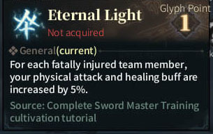 SOLO Reaper Glyph - Eternal Light