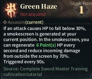SOLO Reaper Glyph - Green Haze
