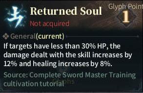 SOLO Reaper Glyph - Returrned Soul