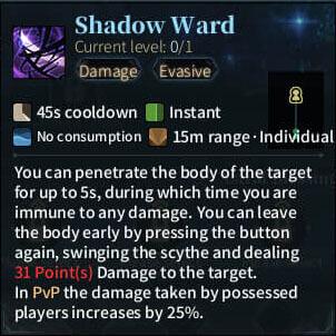 SOLO Reaper - Shadow Ward