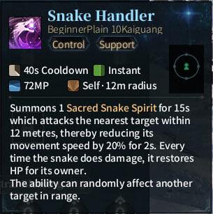 SOLO Reaper - Snake Handler