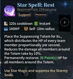SOLO Reaper - Star Spell Rest