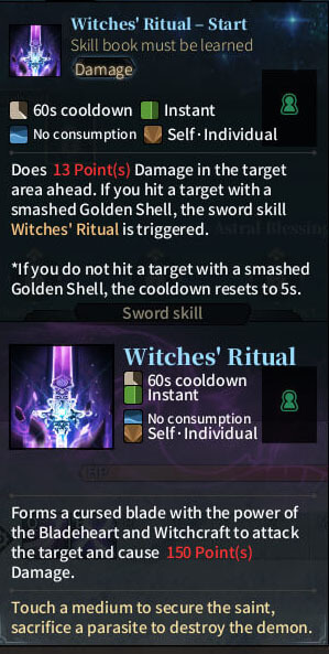 SOLO Reaper - Witches' Ritual Start