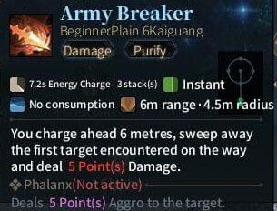SOLO Spear - Army Breaker