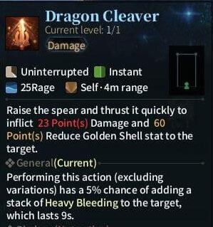 SOLO Spear - Dragon Cleaver