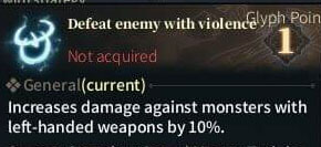 SOLO Spear Glyphs - Defeat enemy with Violence