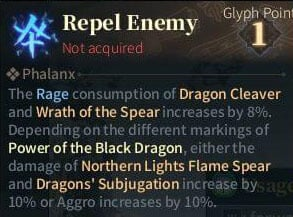 SOLO Spear Glyphs - Repel Enemy