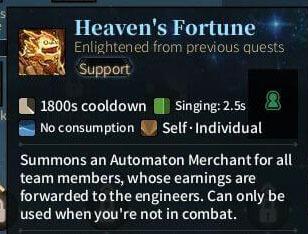 SOLO Spear - Heaven's Fortune