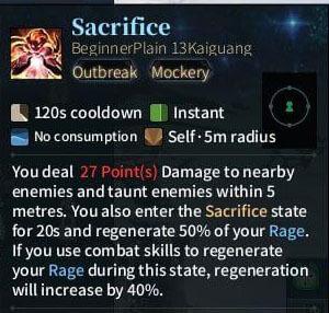SOLO Spear - Sacrifice