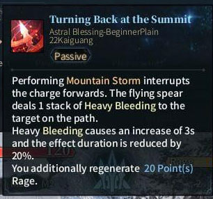 SOLO Spear - Turning Back at the Summit