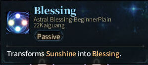 SOLO Summoner Astral - Blessing - Twilight
