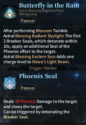 SOLO Summoner Astral - Butterfly in the Rain