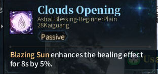 SOLO Summoner Astral - Clouds Opening