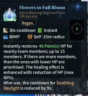 SOLO Summoner Astral - Flowers in Full Bloom