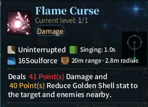 SOLO Summoner - Flame Curse