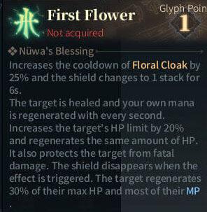 SOLO Summoner Glyphs - First Flower