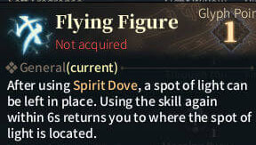 SOLO Summoner Glyphs - Flying Figure