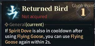 SOLO Summoner Glyphs - Returned Bird