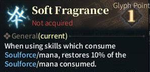 SOLO Summoner Glyphs - Soft Fragrance