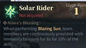 SOLO Summoner Glyphs - Solar Rider