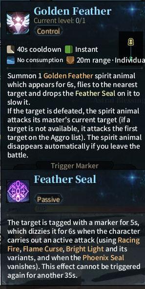 SOLO Summoner - Golden Feather